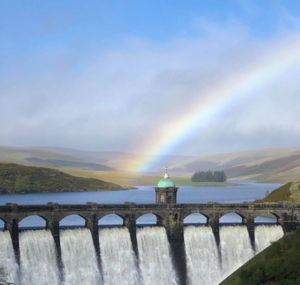 Dam at Elan Valley