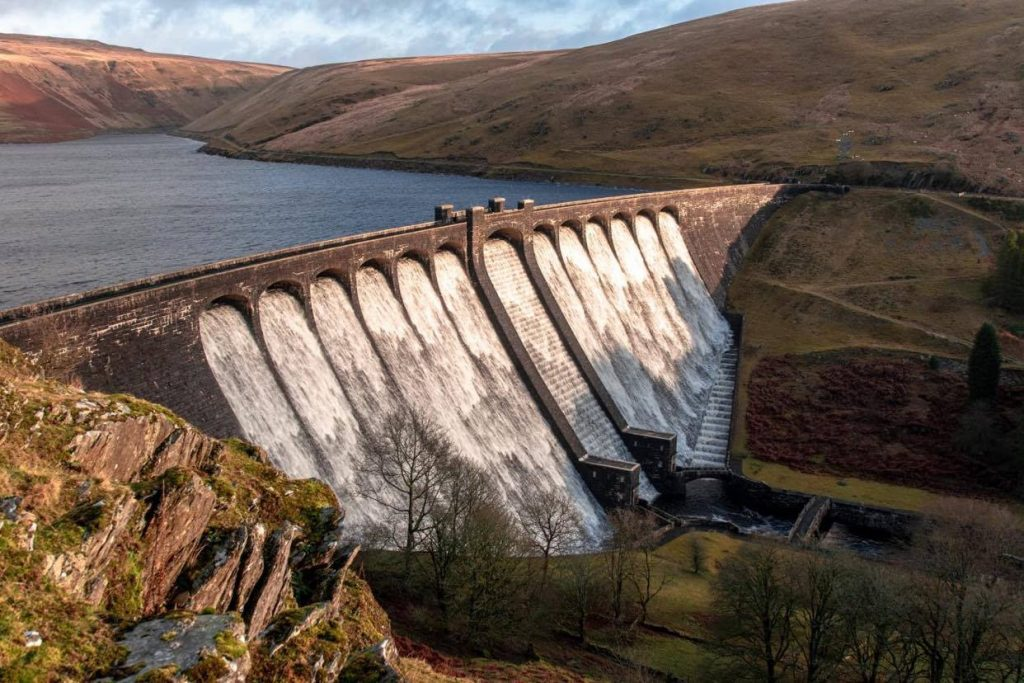Elan Valley Dams and Reservoirs