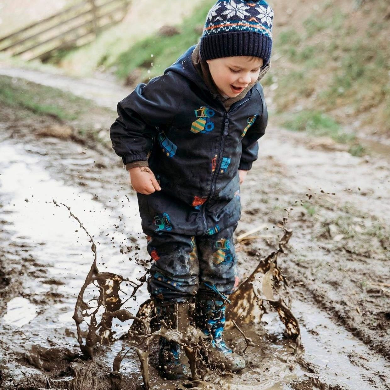 Puddle Jumping at the Treehouse